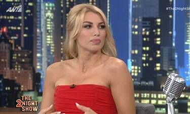 The 2Night Show: Η Κωνσταντίνα Σπυροπούλου αποκάλυψε αν είναι έγκυος!
