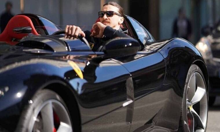 Ιμπραΐμοβιτς: Πήγε στο Σαν Ρέμο με μηχανή αγνώστου επειδή... έπεσε σε κίνηση (vid)