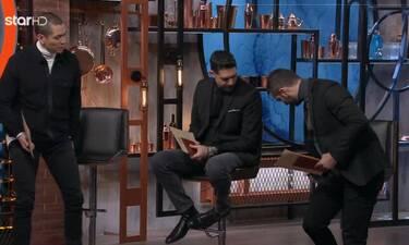 MasterChef: Τα γκρέμισε όλα ο Κουτσόπουλος!  Η παρ'ολίγον τούμπα και ο καβγάς
