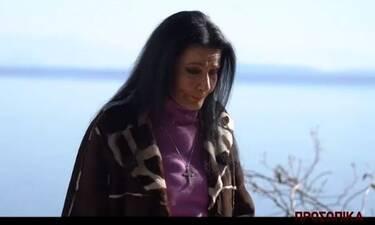 Ζωζώ Σαπουντζάκη: Λύγισε on camera - Τα κλάματα έξω από το καμένο της σπίτι στην Κινέτα