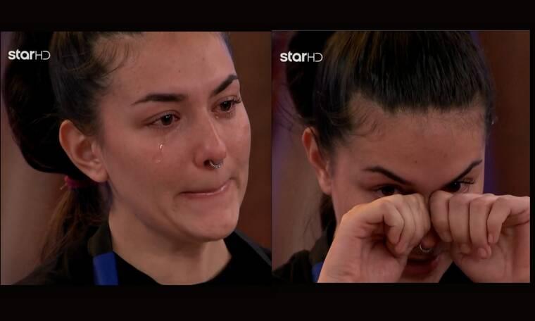MasterChef: Πλάνταξε στο κλάμα η Μαρία κατά τη διάρκεια της ψηφοφορίας – Τι συνέβη;