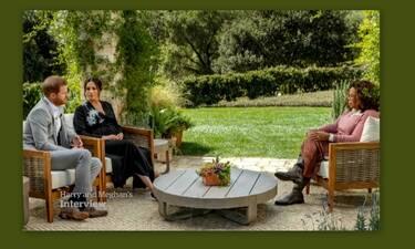 Μέγκαν και Χάρι στην Όπρα: «Το παλάτι ανησυχούσε για το χρώμα του πρώτου μας παιδιού»