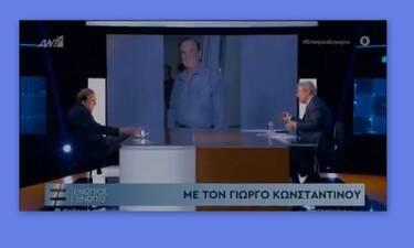 Γιώργος Κωνσταντίνου: Δεν φαντάζεστε τι αποκάλυψε πρώτη φορά για την προσωπική του ζωή
