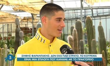 GNTM: O Σήφης εγκατέλειψε την Αθήνα! Αυτός είναι ο λόγος που επέστρεψε στην Κρήτη