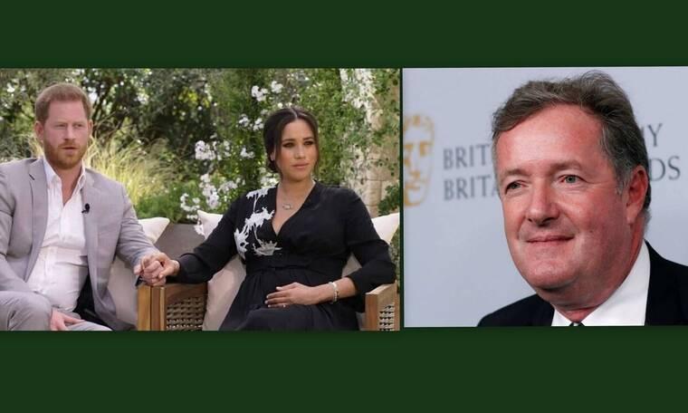 Ηarry - Meghan: Η συνέντευξή τους έφερε την παραίτηση του Piers Morgan από το Good Morning Britain