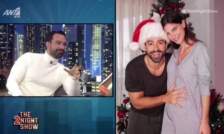 The 2Night Show: Ο Τανιμανίδης για την εγκυμοσύνη της Μπόμπα - «Τρέξαμε στο νοσοκομείο»