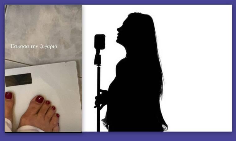 Γνωστή Ελληνίδα τραγουδίστρια κάνει διατροφή και… έσπασε τη ζυγαριά (Photos)