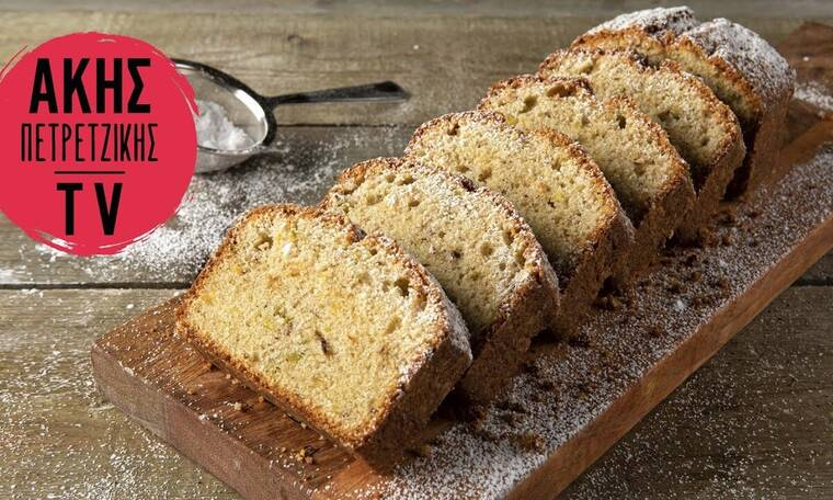 Φτιάξτε κέικ με ούζο όπως ο Άκης Πετρετζίκης