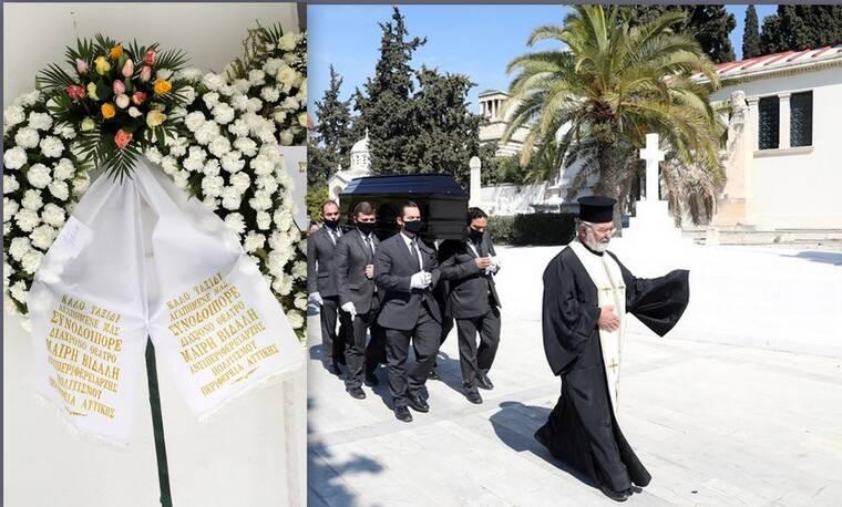 Θεόφιλος Βανδώρος: Θλίψη στην κηδεία του ηθοποιού