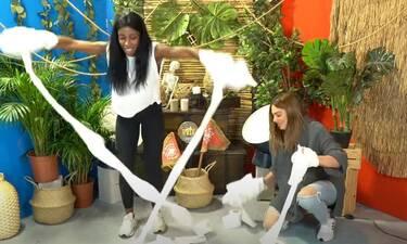Survivor: Η μάχη Ελέτσι - Βαλαβάνη με το χαρτί υγείας - Τρελό γέλιο
