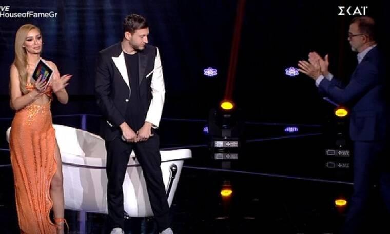 House of Fame: Συγκίνησε ο Ντίνος με την αφιέρωση στην μητέρα του: «Είναι η ηρωίδα μου»