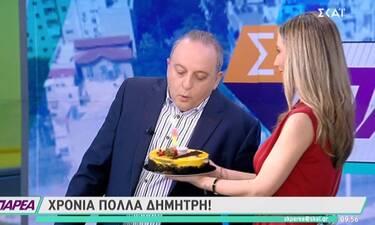 Γενέθλια on air για τον Δημήτρη Καμπουράκη!  Δεν φαντάζεστε τα πόσα έκλεισε!
