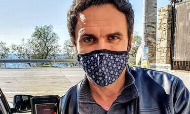 Μελέτης Ηλίας: Θετικός στον κορονοϊό ο ηθοποιός - Η ανάρτηση στο instagram