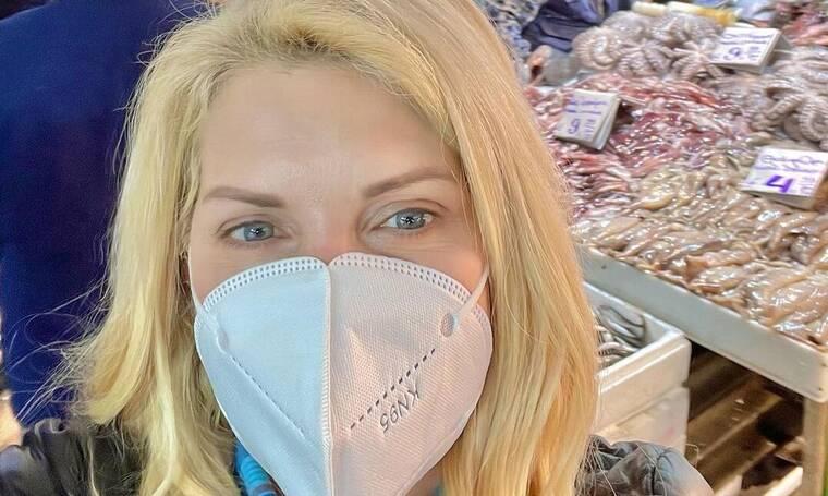Μενεγάκη: Αντιδράσεις στο Instagram για την μετακίνησή της στη Βαρβάκειο Αγορά!