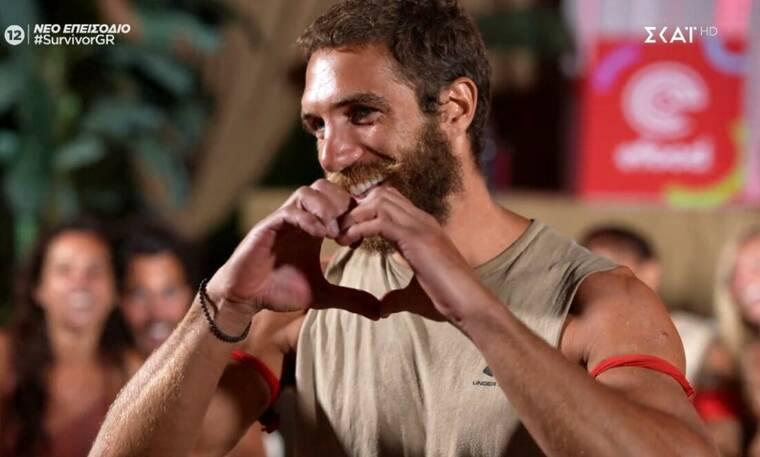 Survivor: Ο Γιώργος Κόρομι έλαβε μήνυμα από την κοπέλα του και έλιωσε από έρωτα!