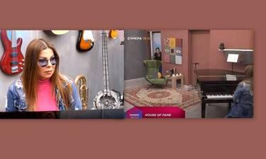 House of Fame: «Τα έχασε» η Βένια όταν είδε την Άντζελα Δημητρίου – Η αντίδραση της τραγουδίστριας