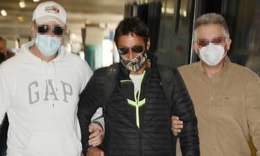 Survivor: Επέστρεψε στην Ελλάδα ο Πάνος Καλίδης - Ευδιάθετος και μαυρισμένος