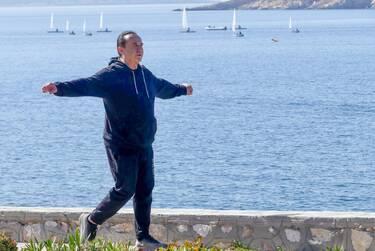 Λευτέρης Πανταζής: Για τρέξιμο και γυμναστική δίπλα στη θάλασσα