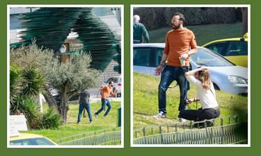 Η βόλτα του... Δρομέα Πάνου Μουζουράκη και οι τρυφερές στιγμές με τη σύντροφό του!