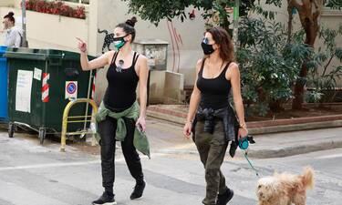 Χριστίνα Μπόμπα: Ο περίπατος κάνει καλό στις εγκύους και πήρε σβάρνα τους δρόμους στο Κολωνάκι!