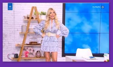 Κατερίνα Καινούργιου: Τα επικά σχόλια των συνεργατών της όταν την είδαν με το floral φόρεμα!
