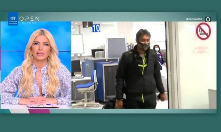 Survivor: O Καλίδης επέστρεψε και απάντησε στις ερωτήσεις των ρεπόρτερ τραγουδώντας