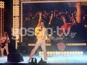 YFSF All Star: Αποθέωση του Ίαν Στρατή που έγινε ο Freddie Mercury