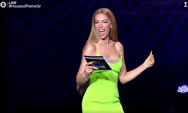 House of Fame: H Ελένη Φουρέιρα μας εντυπωσίασε με την sexy εμφάνισή της!