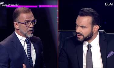 House of Fame: Ο on air καβγάς μεταξύ Αρσενάκου και Μεταξόπουλου - «Θα έπρεπε να σέβεσαι»