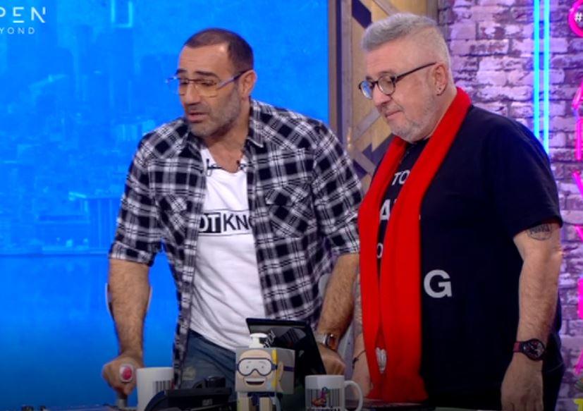 Ράδιο Αρβύλα: Με πατερίτσες ο Αντώνης Κανάκης - Τι συνέβη;