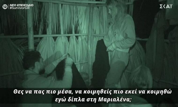 Survivor: Τραυματίστηκε ο Κατσούλης - Ζήτησε από τη Μαριαλένα να κοιμηθούν μαζί