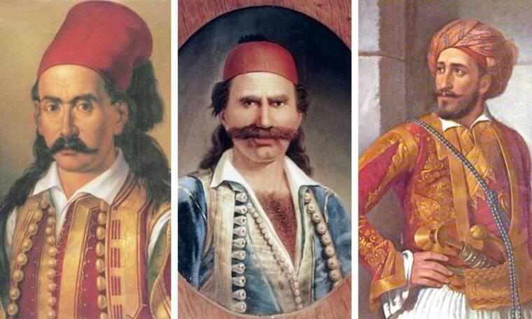 Κουίζ: Πόσους από τους 15 ήρωες της Επανάστασης αναγνωρίζετε;