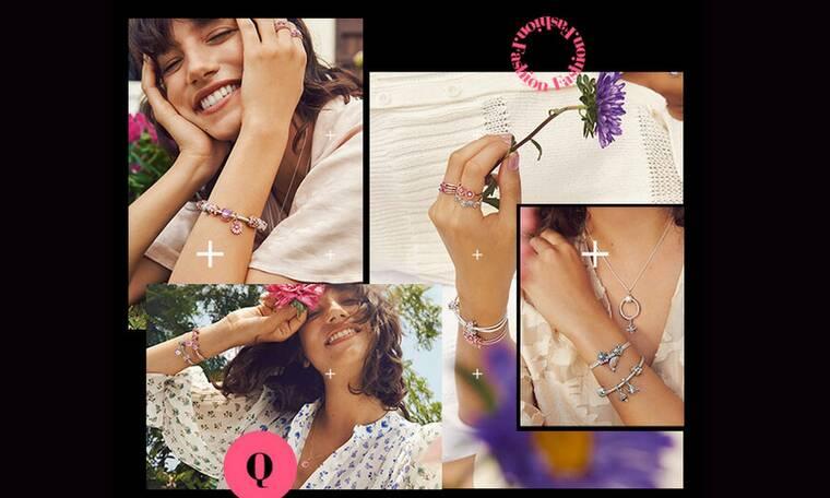 Η Pandora σε προσκαλεί σε έναν «κήπο» γεμάτο με εντυπωσιακά κοσμήματα