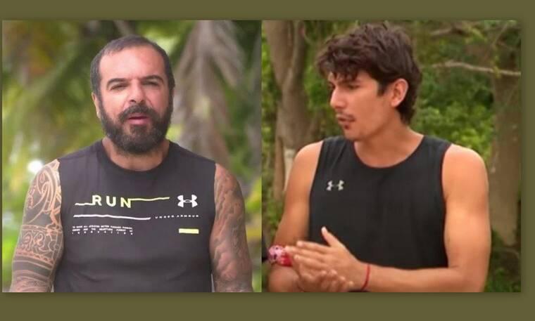 Survivor: Ο Νάσος Γαλακτερός απάντησε στον Τριαντάφυλλο