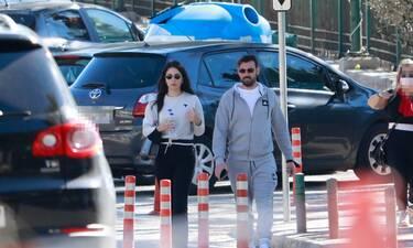 Νίκος Πολυδερόπουλος - Βαλασία Συμιακού: Η πρώτη δημόσια εμφάνιση μετά την είδηση ότι είναι ζευγάρι