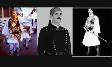 25η Μαρτίου: Αλησμόνητες στιγμές επωνύμων ντυμένοι τσολιάδες!