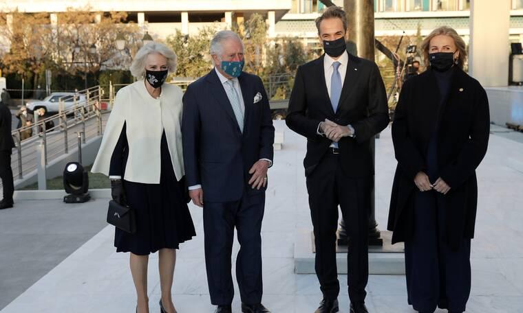 Πρίγκιπας Κάρολος-Καμίλα: Η υποδοχή στην Εθνική Πινακοθήκη, το δείπνο και οι εντυπωσιακές εμφανίσεις