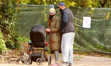 Ράλλη - Ανδρούτσος: Έχουν... μάτια μόνο για την κόρη τους!
