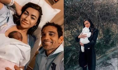 Όλγα Φαρμάκη: Η κόρη της έγινε δύο μηνών και θα ξετρελαθείς με τη νέα φώτο