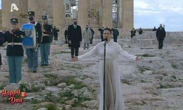 25η Μαρτίου: To μήνυμα της Αναστασίας Ζαννή: «Η Ελλάδα συνεχίζει να εμπνέει όλο τον κόσμο»