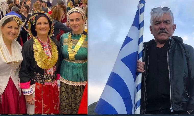 25η Μαρτίου: Στα γαλανόλευκα τα social media των Ελλήνων (photos)