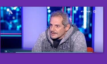 Συγκλονίζει ο Σωτήρης Ταχτσόγλου: «Κρεμάστηκα από το μπαλκόνι κι έπεσα από τον τρίτο όροφο»