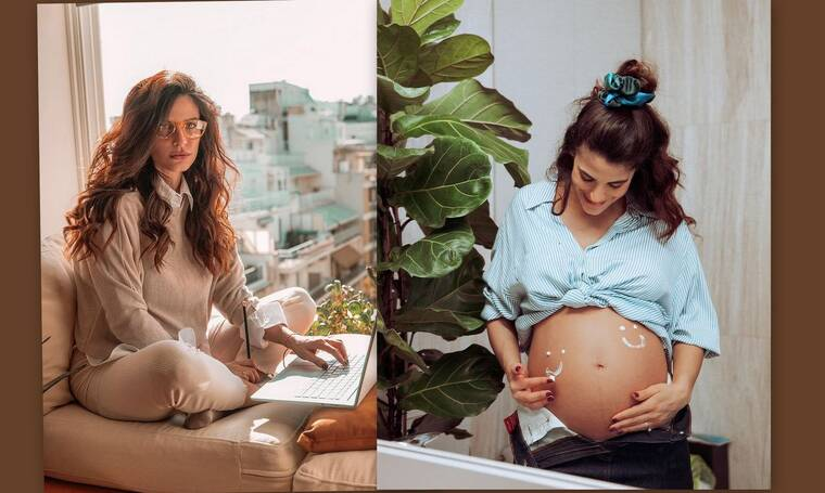 Χριστίνα Μπόμπα: Δείτε την να γυμνάζεται στον 6ο μήνα της εγκυμοσύνης της