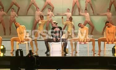 YFSF All Star: Φωτιά στη σκηνή του Show από την Τάνια Μπρεάζου ως Dua Lipa
