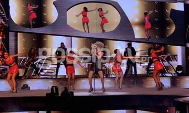 YFSF All Star: Ασταμάτητη ως Tina Turner η Ματθίλδη Μαγγίρα