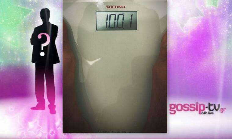 Ηθοποιός ανέβηκε στη ζυγαριά και… έφτασε τα 100 κιλά - Δεν πάει ο νους σου ποιος είναι!