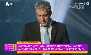 Θέμης Αδαμαντίδης: Η περιπέτεια με τον κορονοϊό, οι 5 γιοι και οι σκέψεις γάμου!