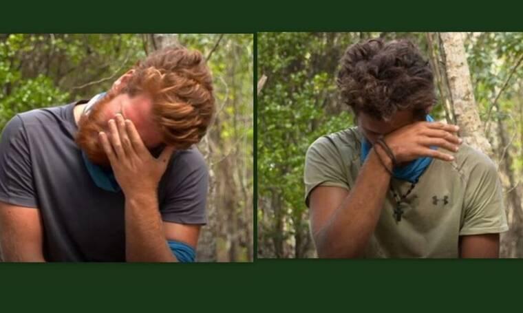 Survivor: Σε άσχημη ψυχολογική κατάσταση James και Μπάρτζης μετά την αποχώρηση της Άννας Μαρίας