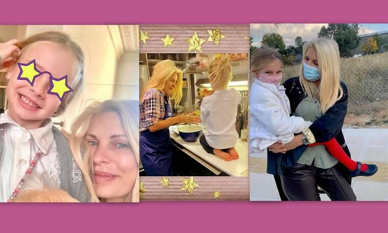 Μαρίνα Παντζοπούλου: Γίνεται έξι χρονών και η ομοιότητα με την Μενεγάκη είναι εκπληκτική - Δες φώτο