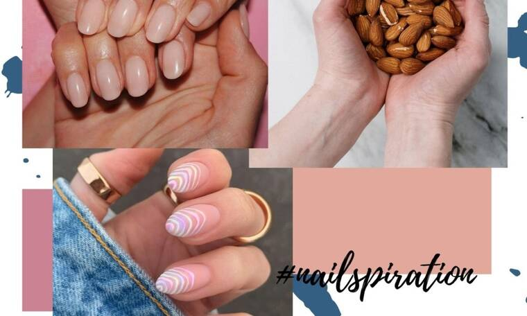 Έχεις νύχια σε σχήμα αμύγδαλο; Δέκα σχέδια για να κάνεις στο επόμενο ραντεβού